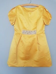 Yellow Embellished Dress by Fearne Cotton at Very Size 16