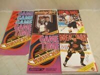 Vancouver Canucks Hockey Magazine 1990s Lot of 8 NHL Programs