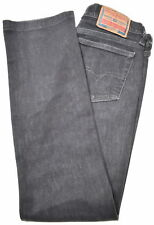 DIESEL Womens Jeans W27 L29 Black Cotton Straight