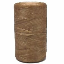 Natural Color Artificial Flat Sinew Waxed 8 oz. by Real Leather Bs108 Stitching