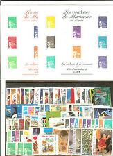 FRANCE Année COMPLETE 2002 - NEUF ** LUXE AVEC BLOCS COMPLETS N° 43 à 53