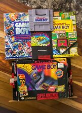 Super GameBoy SNES Super Nintendo Entertainment System CIB Complete BIG BOX Ver2