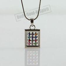 Soul Messianic Hoshen Shield Necklace Jewish 12 tribes Amulet holyland Pendant
