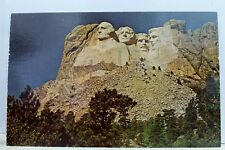 South Dakota SD Mt Rushmore National Monument Postcard Old Vintage Card View PC