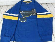Boys Majestic NHL St. Louis Blues Long Sleeve Shirt Size S