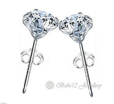 0.4CT Simulated Diamond Stud Earring/White gold/RGE617