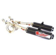 Big Gun EVO U Dual Full System Exhaust Pipe Muffler Arctic Cat Wildcat 1000