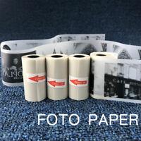KE_ 57x30mm Semi-Transparent Thermal Printing Paper Roll for Paperang Photo Pr