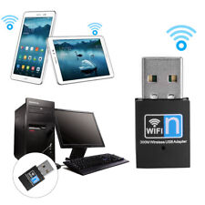 300M USB WiFi Wireless LAN 802.11 n/g/b Adapter Nano Network 300Mbps Easy To Use