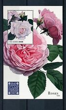 Gambian Flowers Sheet Postal Stamps
