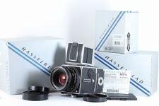 Hasselblad 503CW + Planar CF 80mm F2.8 T* + A12 6x6 Film back With Box #EB0032
