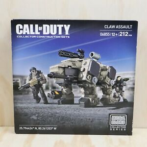 2014 Mega Bloks Collector Series Call of Duty Claw Assault 212 Pieces - New