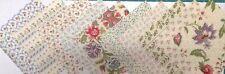 Versailles Tea Time Floral Fabric Pack remnants patchwork bundles 100%cotton