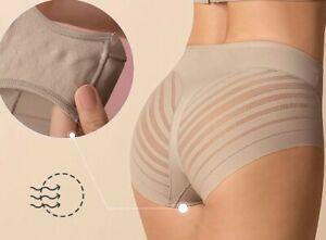 LEONISA SHAPEWEAR Undetectable Contouring Panty Size M