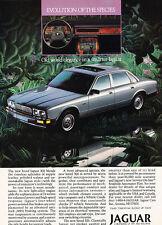 1988 Jaguar XJ6 - Evolution - Classic Vintage Advertisement Ad D104