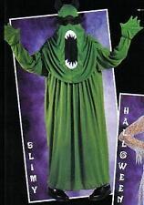 COSTUME DEGUISEMENT SLIMY adulte vert HORREUR FANTOME HALLOWEEN taille unique