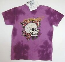 Ed Hardy Kids Purple Tie-Dyed Shirt (12-18M) NWT