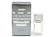 Emporio Diamonds for Men Giorgio Armani EDT Mini Splash 0.14 oz  NEW