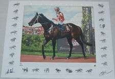 BLACK CAVIAR PETER MOODY LUKE NOLEN HAND SIGNED FINE ART LIMITED EDITION PRINT