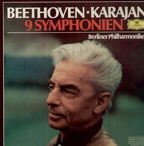 Beethoven - 9 Symphonien 8 LP Box, Karajan / Berliner Philharmoniker