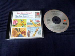 CD Vivaldi 4 Seasons Vier Jahreszeiten Jean-Pierre Rampal Pertis Roalla SONY