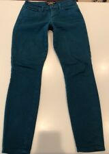 Lucky Brand Women's Sofia Skinny Jeans, Turquoise,  Size 4/27 Ankle