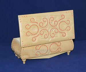 New Fashion Ukrainian  Wooden Hand Carved Jewelry Box Case Jewel-case Handmade