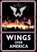 PAUL McCARTNEY 1976 WINGS OVER AMERICA TOUR PROGRAM BOOK BOOKLET / NM 2 MNT