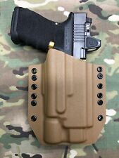 Coyote Tan Kydex Holster for Glock 17 22 31 Threaded Barrel Surefire X300 B