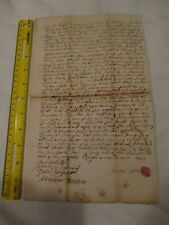 1740 Brunswick Maine Anthony Combs Coombs Family deed Falmouth Topsham Eaton