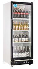 AG Gastro Flaschenkühlschrank Glastür 230 Liter 530x635x1442 schwarz