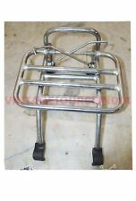 VESPA PX LML STAR SPEEDY STELLA FRONT RACK CARRIER CHROME PLATED @CAD