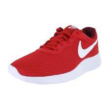 Nike Tanjun Running 812654-616 University Red White Mens US size 15, UK 14