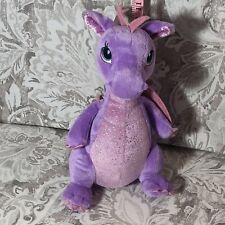 """Aurora 12"""" Larkspur Dragon Plush Toy Animal"""