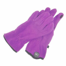 Kids REI TECH FRIENDLY GLOVES Size XL 18 Purple Fleece Winter Touchscreen