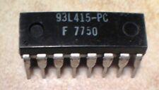 Fairchild 93L415PC 1K Static RAM - NOS