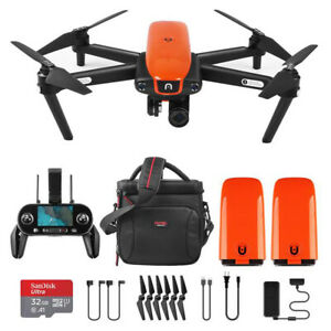 Autel Robotics EVO Drone Camera with On-The-Go Bundle with Lume Cubes