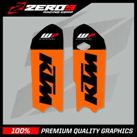 KTM SX 85 2013 - 2017 LOWER FORK DECAL MOTOCROSS GRAPHICS MX GRAPHICS WP