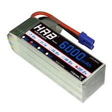 HRB LiPo Battery 22.2V 6S 6000mAh 50C 100C for RC Trex 700 Helicoptor Plane EC5