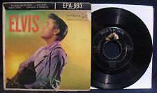 "ELVIS PRESLEY  ""Elvis""~Rare 1956 Ep 45+Sleeve-RCA VICTOR #EPA-993-Rockabilly"