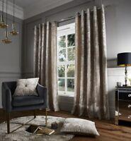 Luxury Crushed Velvet Catherine Lansfeild Natural Duvet Cover Set or Accessories