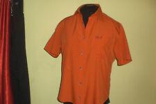 orange karierte Bluse von Jack Wolfskin Gr 46