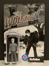 Funko ReAction The Wolf Man Figure NYCC Exclusive Unpunched!!!! 2000 pcs made!
