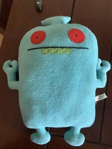"""Full-size Uglydoll - """"Uglybot"""" - """"Used"""" with original manufacturer's tag"""