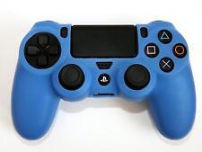 PS 4 CONTROLLER SILIKON SCHUTZ HÜLLE SILICON CASE BUMPER für PlayStation 4 BLAU