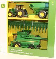 John Deere 1/32 G-Scale Corn Harvesting Set Tractor Trailer Combine Farm G-Gauge