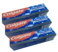 3 X Colgate Deep Clean Whitening Toothpaste 75ml