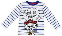 Boys Paw Patrol Marshall Dare to Dream Long Sleeve Top 12 Months to 5 Years