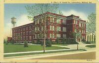 Milford Kent County Delaware Caulk Dental Laboratory Dentistry 1930s Postcard