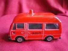 YONEZAWA KOMBI DIAPET NISSAN CARAVAN FIRE 119 POMPIERS  (vendu sans boite),